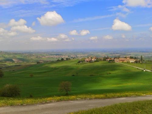 Panorama dalle terrazze del Ristorante al Contesse