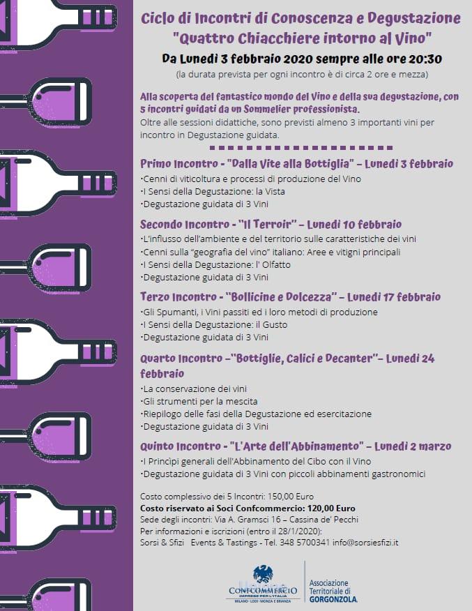 Degustazioni vino in Martesana